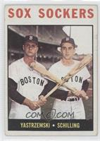Sox Sockers (Carl Yastrzemski, Chuck Schilling) [Noted]