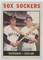 Sox Sockers (Carl Yastrzemski, Chuck Schilling) [PoortoFair]