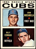 1964 Rookie Stars - John Boccabella, Billy Cowan [VGEX]