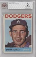 Sandy Koufax [BVG 5 EXCELLENT]