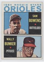Sam Bowens, Wally Bunker [Good to VG‑EX]
