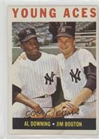 Young Aces (Al Downing, Jim Bouton) [Poor to Fair]