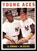 Young Aces (Al Downing, Jim Bouton) [EX MT]