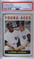 Young Aces (Al Downing, Jim Bouton) [PSA5EX]