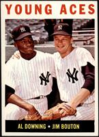 Young Aces (Al Downing, Jim Bouton) [EX MT+]