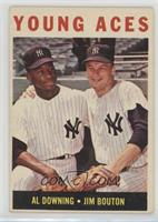 Young Aces (Al Downing, Jim Bouton) [Good to VG‑EX]