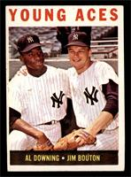 Young Aces (Al Downing, Jim Bouton) [EX]