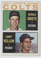 1964 Rookie Stars - Larry Yellen, Jerry Grote [Noted]