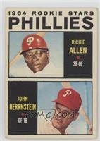 Dick Allen, John Herrnstein [GoodtoVG‑EX]