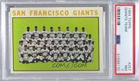 San Francisco Giants Team [PSA7NM]
