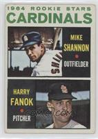 Cardinals Rookie Stars (Mike Shannon, Harry Fanok) [GoodtoVG‑…