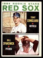 1964 Rookie Stars - Tony Conigliaro, Bill Spanswick [VG]