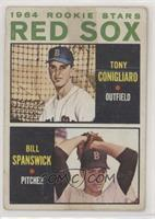 Red Sox Rookie Stars (Tony Conigliaro, Bill Spanswick) [Poor]