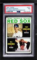 Red Sox Rookie Stars (Tony Conigliaro, Bill Spanswick) [PSA 7 NM]