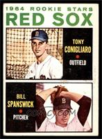 Red Sox Rookie Stars (Tony Conigliaro, Bill Spanswick) [VG]