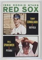 Red Sox Rookie Stars (Tony Conigliaro, Bill Spanswick)