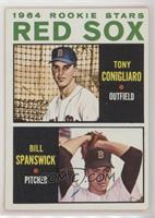 Red Sox Rookie Stars (Tony Conigliaro, Bill Spanswick) [Poor to Fair]