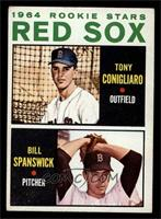 Red Sox Rookie Stars (Tony Conigliaro, Bill Spanswick) [EX]