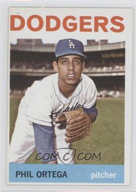 1964 Topps - [Base] #291 - Phil Ortega