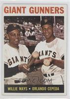 Giant Gunners (Willie Mays, Orlando Cepeda)