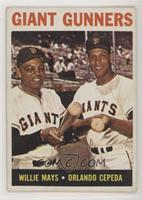 Giant Gunners (Willie Mays, Orlando Cepeda) [Good to VG‑EX]