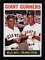 Giant Gunners (Willie Mays, Orlando Cepeda) [NoneGoodtoVGR…