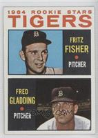Tigers Rookie Stars (Fritz Fisher, Fred Gladding)