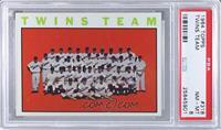 Minnesota Twins Team [PSA8]