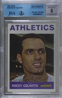 Rocky Colavito [JSA Certified Encased by BGS]