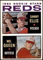 1964 Rookie Stars - Sammy Ellis, Mel Queen [GOOD]
