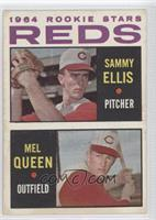 Rookie Stars Reds (Sammy Ellis, Mel Queen)