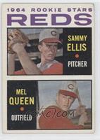 Rookie Stars Reds (Sammy Ellis, Mel Queen)