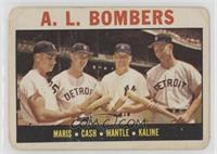 A.L. Bombers (Roger Maris, Norm Cash, Mickey Mantle, Al Kaline) [Poor]