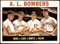 A.L. Bombers (Roger Maris, Norm Cash, Mickey Mantle, Al Kaline) [VG]