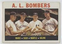 A.L. Bombers (Roger Maris, Norm Cash, Mickey Mantle, Al Kaline) [Good to&n…