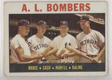 1964 Topps - [Base] #331 - A.L. Bombers (Roger Maris, Norm Cash, Mickey Mantle, Al Kaline) [GoodtoVG‑EX]
