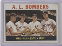 A.L. Bombers (Roger Maris, Norm Cash, Mickey Mantle, Al Kaline) [Poor to&n…
