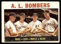 A.L. Bombers (Roger Maris, Norm Cash, Mickey Mantle, Al Kaline) [GOOD]
