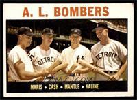 A.L. Bombers (Roger Maris, Norm Cash, Mickey Mantle, Al Kaline) [VGEX]