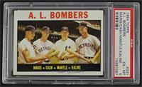 A.L. Bombers (Roger Maris, Norm Cash, Mickey Mantle, Al Kaline) [PSA6&nbs…
