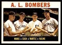 A.L. Bombers (Roger Maris, Norm Cash, Mickey Mantle, Al Kaline) [EXMT]