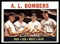 A.L. Bombers (Roger Maris, Norm Cash, Mickey Mantle, Al Kaline) [VG]