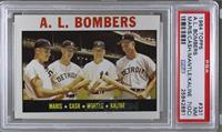 A.L. Bombers (Roger Maris, Norm Cash, Mickey Mantle, Al Kaline) [PSA7&nbs…