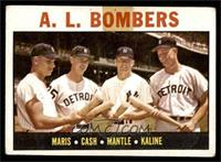 A.L. Bombers (Roger Maris, Norm Cash, Mickey Mantle, Al Kaline) [FAIR]