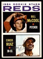 Reds Rookie Stars (Billy McCool, Chico Ruiz) [EX]