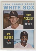 1964 Rookie Stars - Fritz Ackley, Don Buford