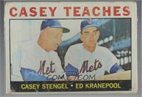Casey Teaches (Casey Stengel, Ed Kranepool) [Poor]