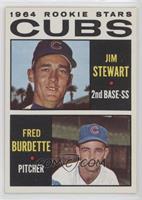 1964 Rookie Stars - Jimmy Stewart, Freddie Burdette
