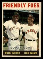 Friendly Foes (Willie McCovey, Leon Wagner) [NM MT]
