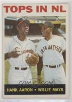 Tops in NL (Hank Aaron, Willie Mays)